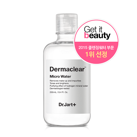 Dr.jart Micro water Dermaclear [250ml+150ml] 温和卸妆水