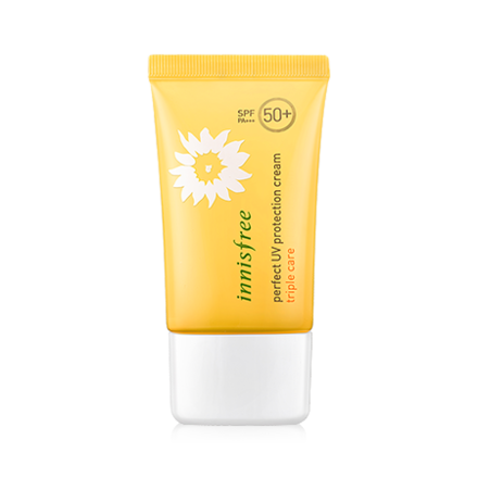 Innisfree Perfect UV Protection Cream Triple Care SPF50+PA+++[50ml] 悦诗风吟 完美清爽防晒霜