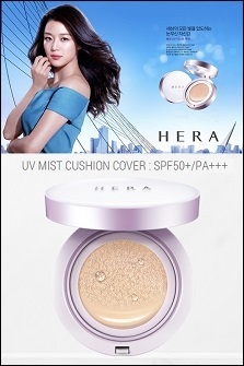 HERA UV Mist Cushion Cover[SPF 50+/PA+++]经典气垫#遮瑕款