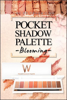 W.Lab Pocket Palette Blooming【w.lab十色眼影盘】