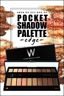 W.Lab Pocket Palette Edge 10色眼影盘#Edge